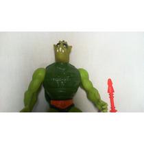 Boneco Coleção He-man She-ra Whiplash 1986 Completo