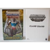 He-man, Motuc, Master Of The Universe Classics *clamp Champ*