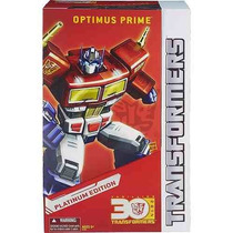 Boneco Transformers Optimus Prime Platinum Edition