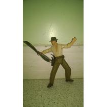 Boneco Indiana Jones Original Com Chicote 10cm
