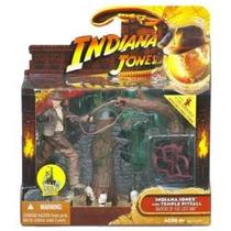 Temple Pitfall Deluxe Indiana Jones 10cm Lacrado