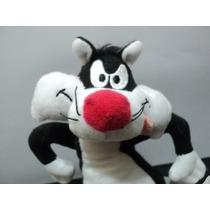Pelúcia Coleção Mc Donalds Looney Tunes Frajola Bom Estado!