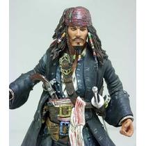 Neca Jack Sparrow Johnny Depp Disney Piratas Caribe Filme Dc