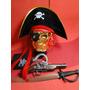 Fantasia Com Acessorios Jack Sparrow Piratas Do Caribe