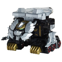 Boneco Megazord Lion Mechazord E Robo Knight Power Ranger.