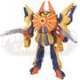 Boneco Power Rangers Samurai Megazord /clawzord 30cm - Sunny
