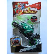 C715 - Power Rangers Samurai - Moto Espada Floresta
