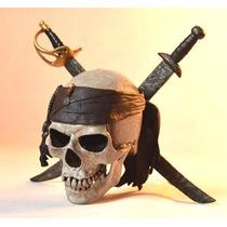 Cranio Caveira Perola Negra Piratas Do Caribe Em Estoque