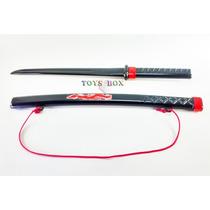 Espada Samurai Ninja Brinquedo 62cm Infantil Fantasia Festas