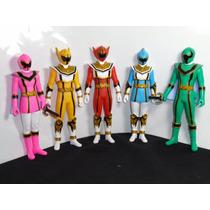 Power Rangers Força Mística / Magiranger Set Com 05 Bandai