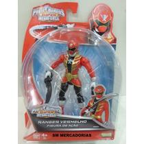Power Rangers Super Megaforce Ranger Vermelho Figura De Açao