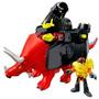 Brinquedo Imaginext Dinotech Robo Grande Triceratops