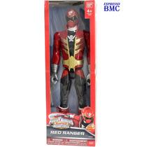 Ranger Vermelho De 30cm Power Rangers Super Megaforce Bandai