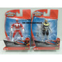 Power Rabgers Super Megaforce Vermelho E Robo Guerreiro