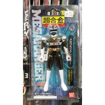 Sentai Megaranger Black Preto Chogokin Power Rangers Espaço