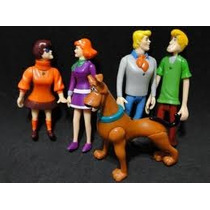 Scoobydoo Eletronico Salsicha Fred Daphne Welma 12 Cm Altura