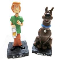 Salsicha E Scooby-doo Bonecos Em Resina