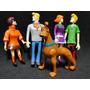 05 Bonecos Eletrônicos Scoobydoo Latidos E Luzes De Led