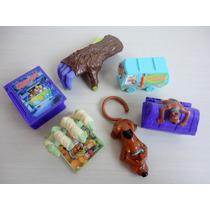 Coleção Mc Donalds Scooby-doo 2014 Kit 6 Peças ! !