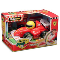 Carro Play And Go - Ferrari F2012 Com Som - Dtc