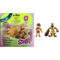 Miniaturas: Scooby Homem Da Caverna + Velma Original Estrela