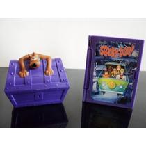 Livro Com Zumbi Dentro + Baú Scooby-doo Coleção Mc Donalds