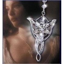 Colar Arwen Evenstar Estrela Vespertina O Senhor Dos Anéis