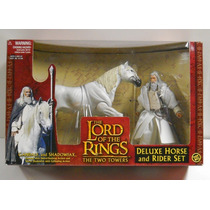 Gandalf E Shadowfax, O Senhor Dos Anéis, Toy Biz, Novo Raro