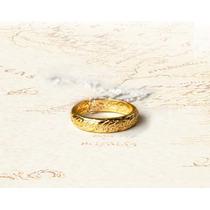 O Um Anel Hobbit Frodo Bilbo Senhor Dos Anéis - Frete 5 R$!