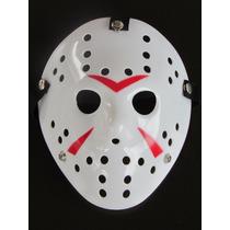 Máscara Jason - Filme Sexta Feira 13 Branca - Pronta Entrega
