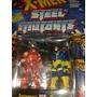 Heavy Metal Heroes Ciclops Vs Juggernalt Rarissimo Marvel