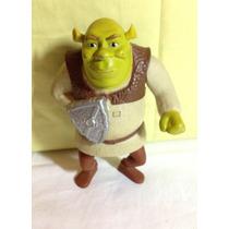 Boneco Shrek C/ Escudo De Cavaleiro Do Filme Ogro Brinquedos