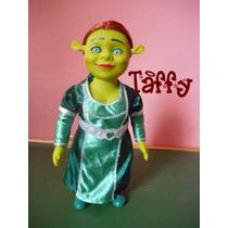 Boneca Borracha Princesa Fiona Ogro Shrek Sherek 38cm Taffy