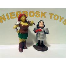 Coleção Shrek - Fiona E Lord Farquaad - 7 Cm
