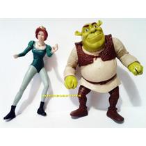 Lote Mc Donalds Shrek - Shrek E Fiona - Mc Lanche Feliz