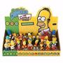 Bonecos Os Simpsons Novos Personagens Display C/24 Pçs Br361
