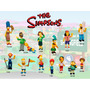 Simpsons - 14 Personagens Alta Qualidade