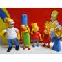 Lote Boneco Simpsons Mexe Braço Cabeça Perna Tem Luz Led