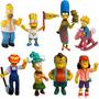 Os Simpsons Kit 8 Bonecos Miniatura Coleção Frete Grátis!!!