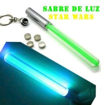 Chaveiro Sabre Luz Light Saber Darth Vader Jedi Anakin Luke