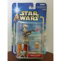 Star Wars Cartela Azul (attack Of The Clones) Battle Droid