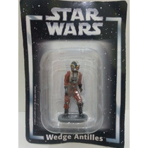 Miniatura Star Wars Wedge Antilles Planeta Agostini Chumbo