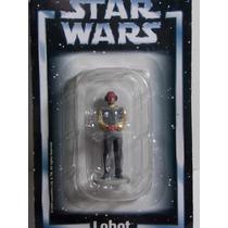 Miniatura Star Wars Lobot Planeta Agostini Chumbo