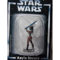 Miniatura Star Wars Aayala Secura Planeta Agostini Chumbo
