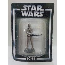 Miniatura Star Wars Ig 88 Planeta Agostini Chumbo