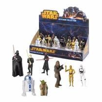 Coleção Display 24 Chaveiros Star Wars Original