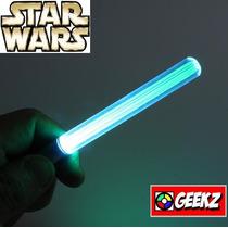 Sabre De Luz Led Verde Chaveiro Star Wars Eletrônico