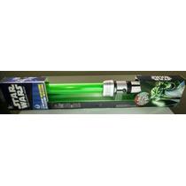 Sabre De Luz Eletrônico Star Wars Yoda The Clone Hasbro