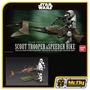 Bandai Star Wars Scout Trooper E Speeder Bike 1/12 Model Kit
