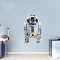 Adesivo De Parede Decorativo Robô R2 D2 Star Wars